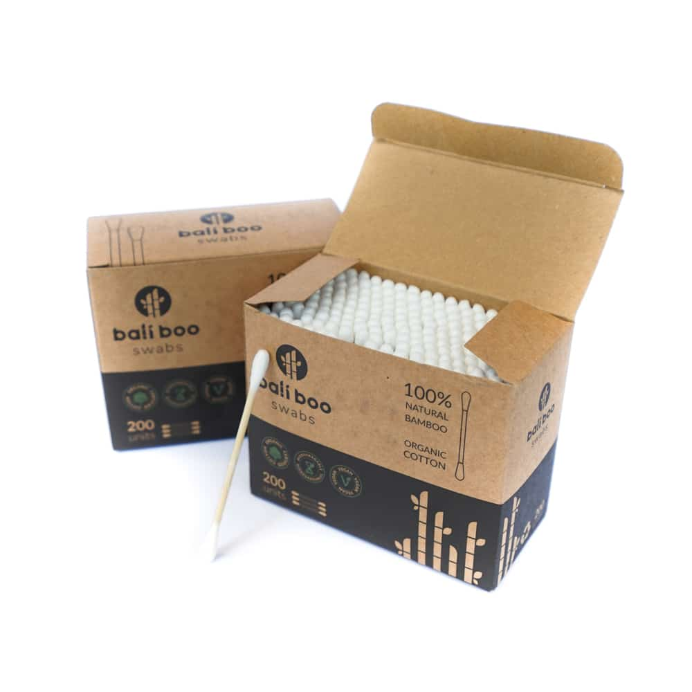 bamboo cotton swabs - bamboo cotton buds by Bali Boo