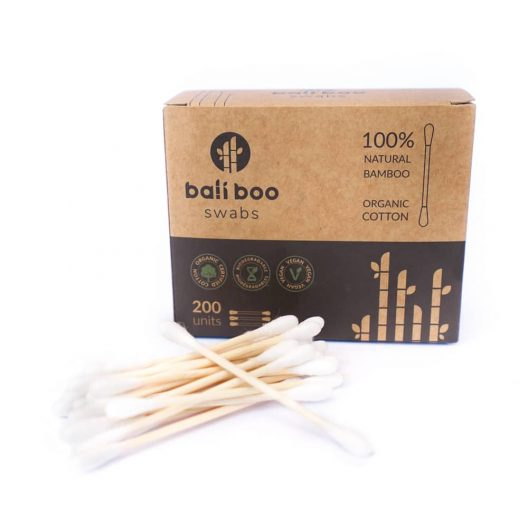 pack of bamboo cotton buds by Bali Boo