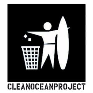 logo of the clean ocean project - sustainable collaborations with Bali Boo