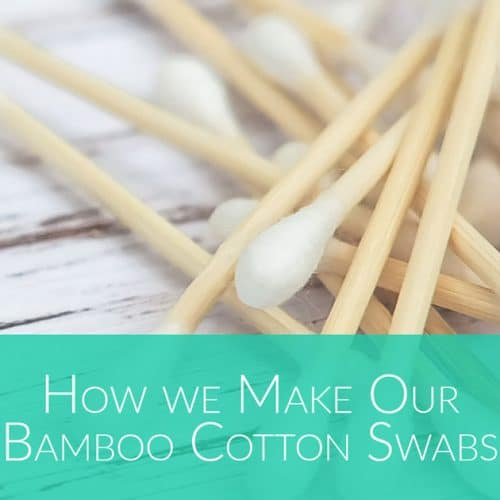 how we make our Bamboo Cotton Swabs - Bali Boo