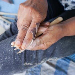 how to make bamboo utensils by Bali Boo