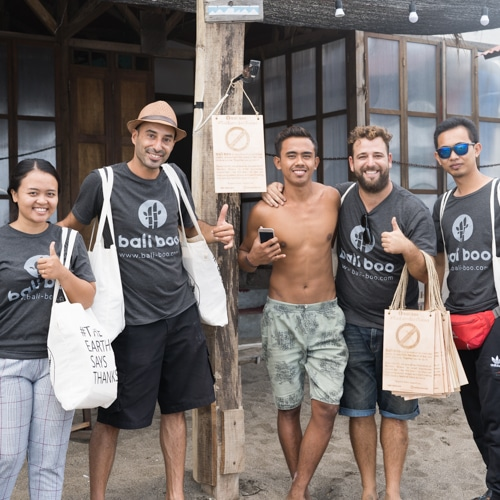 Ending Plastic Straws in Bali - #TheEarthSaysThanks Project by Bali Boo